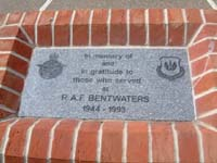plaque is a memorial that has been placed near the control tower on the flightline side...clik for larger pic